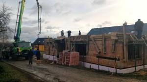 Novostavba rodinného domu Hvozdnice