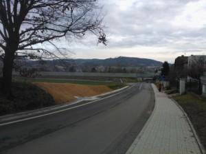 Rekonstrukce komunikace vč. odvodnění, vybudování chodníků v obci Čerčany