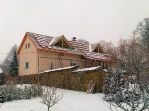 Rekonstrukce RD Jiřetice