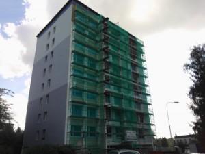 Celková revitalizace panelového domu vč. střešní nástavby, Mnichovo Hradiště